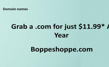 Grab A Domain Name For Just $11.99* A Year