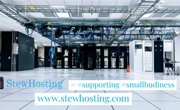 Stew Hosting = Supporting Small Business